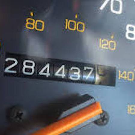 Image of Odometer approaching 300,000 miles