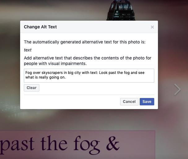 change alt text image